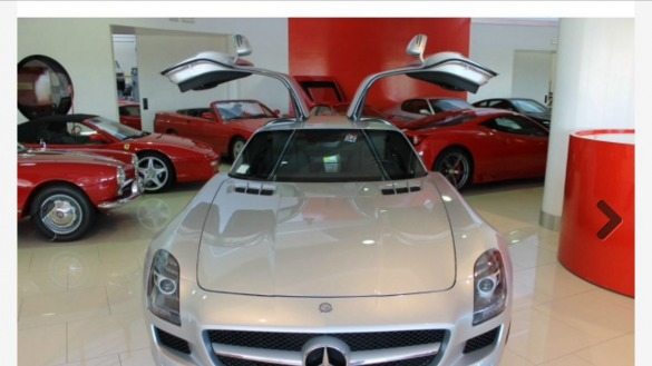 MERCEDES SLS AMG 6.3 V8  Coupé Speedshift DCT